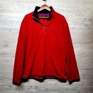 Nautica Fleece 1/4 Zip Sweatshirt. Perfect! Soft!